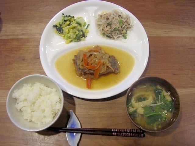 おまかせ健康三彩 カレイの南蛮煮16
