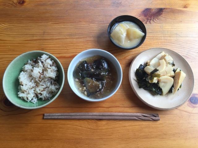 わんまいる 筍とわかめの煮物5