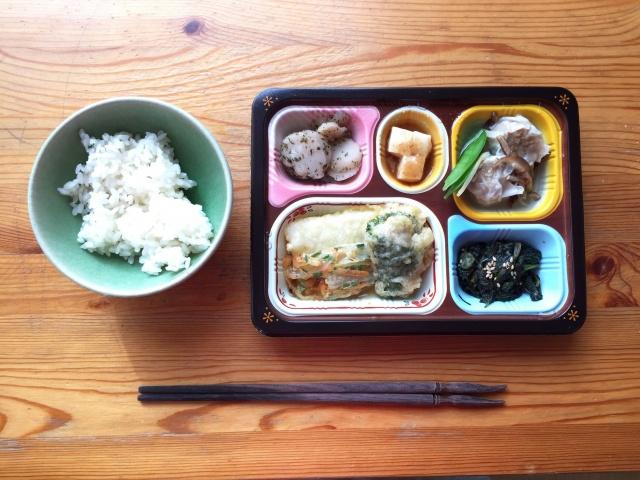 食宅便 魚介天ぷらと野菜のかき揚げ6