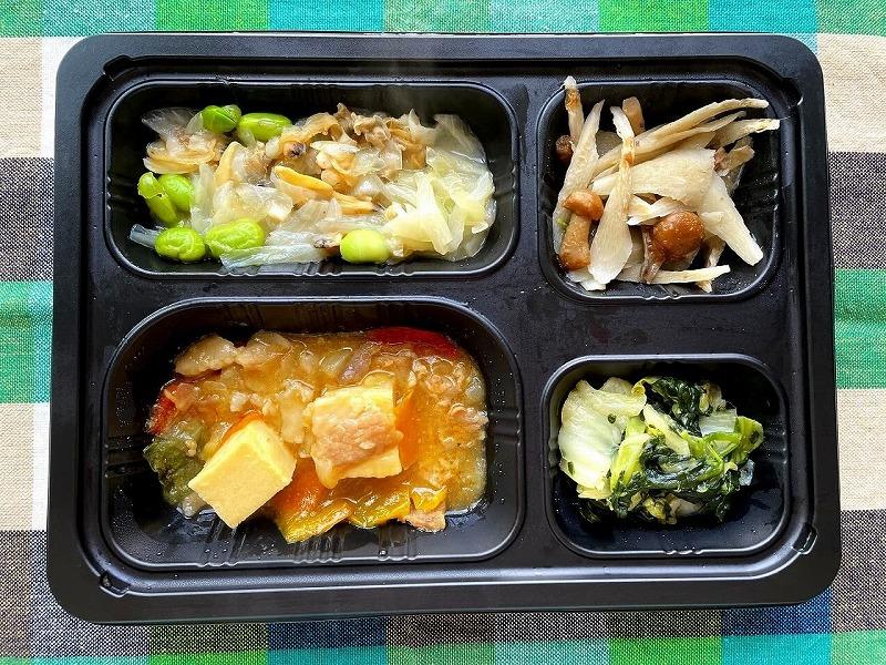 まごころケア食 家常豆腐弁当14