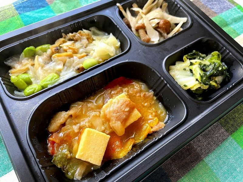 まごころケア食 家常豆腐弁当18