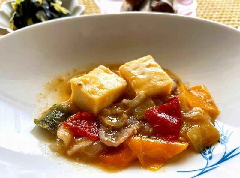 まごころケア食 家常豆腐弁当25