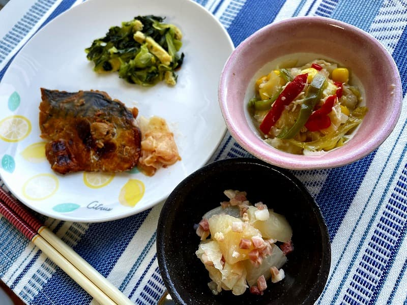 まごころケア食サバのもろみ焼き弁当10