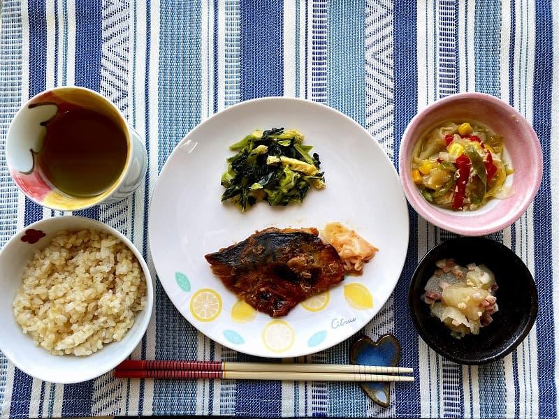 まごころケア食サバのもろみ焼き弁当11
