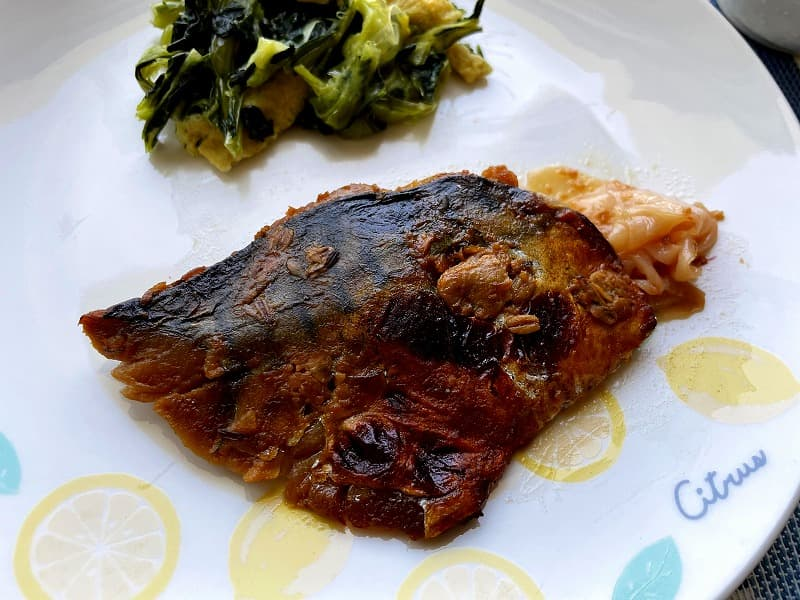 まごころケア食サバのもろみ焼き弁当17