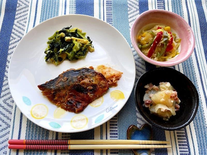 まごころケア食サバのもろみ焼き弁当8
