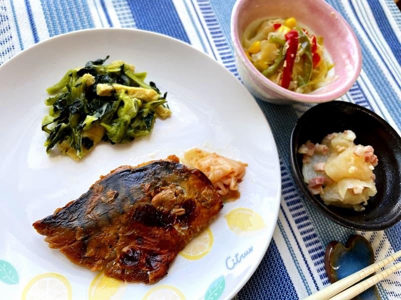 まごころケア食サバのもろみ焼き弁当9