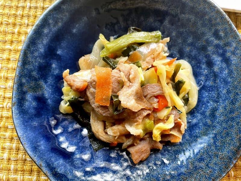 まごころケア食豚肉のジンギスカン風弁当10