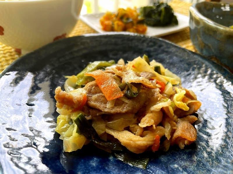 まごころケア食豚肉のジンギスカン風弁当11