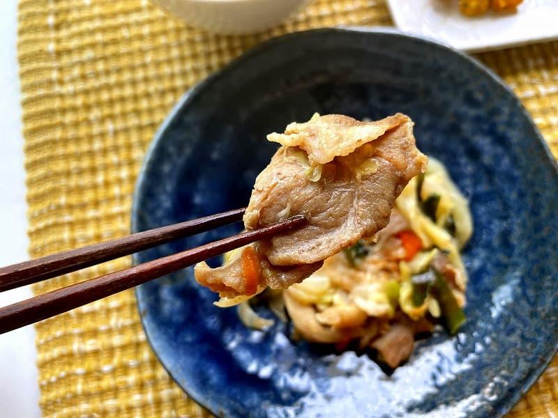 まごころケア食豚肉のジンギスカン風弁当13
