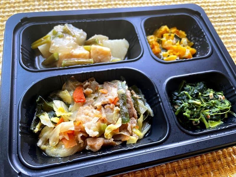 まごころケア食豚肉のジンギスカン風弁当6