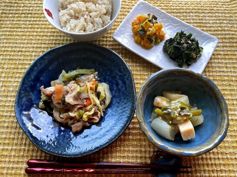 まごころケア食豚肉のジンギスカン風弁当7