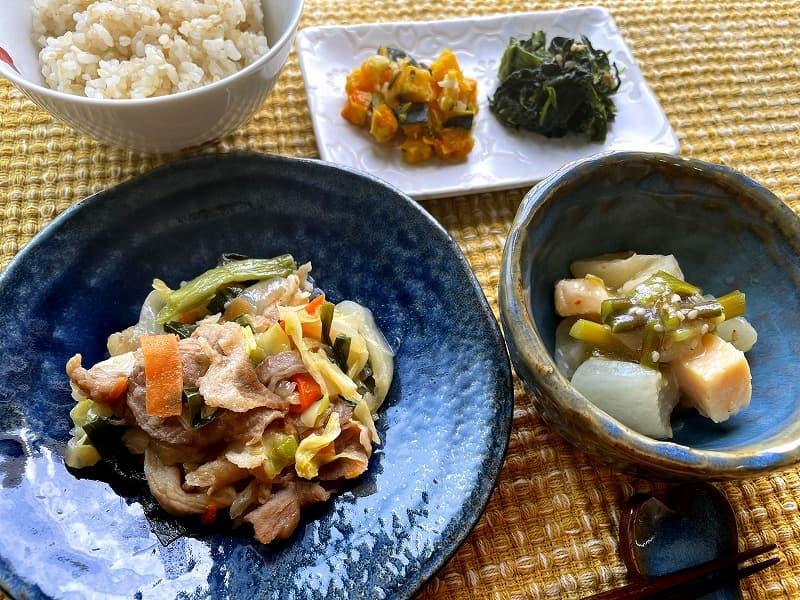 まごころケア食豚肉のジンギスカン風弁当8