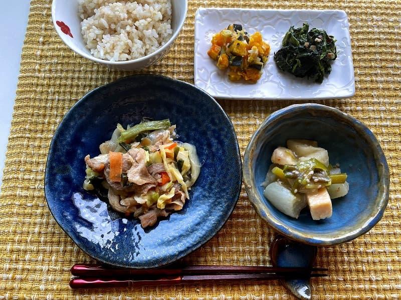 まごころケア食豚肉のジンギスカン風弁当9