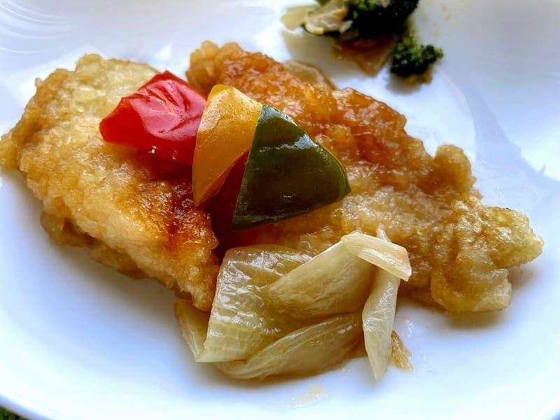 ナッシュnash白身魚の甘酢ソース04