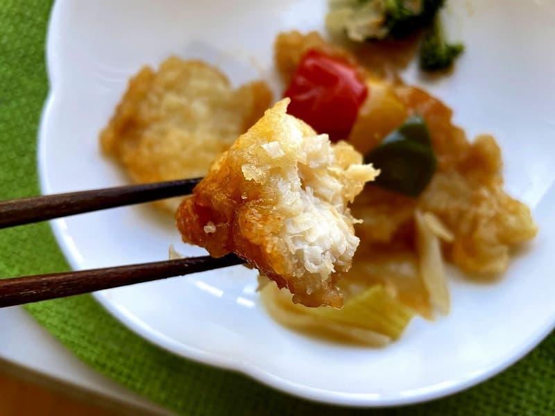 ナッシュnash白身魚の甘酢ソース07