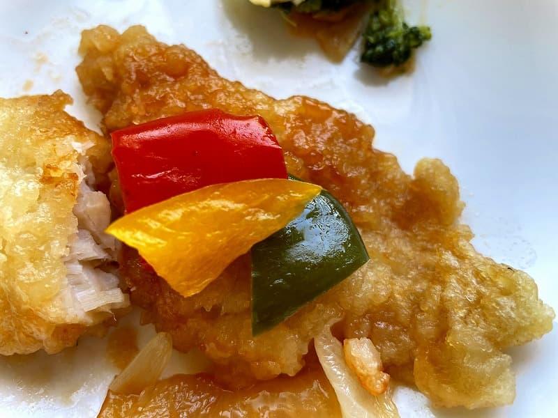 ナッシュnash白身魚の甘酢ソース08