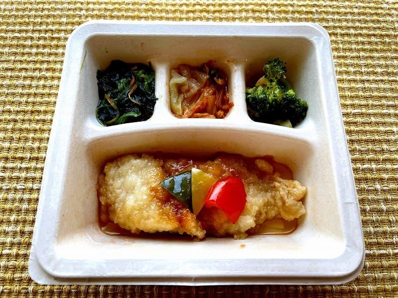 ナッシュnash白身魚の甘酢ソース19