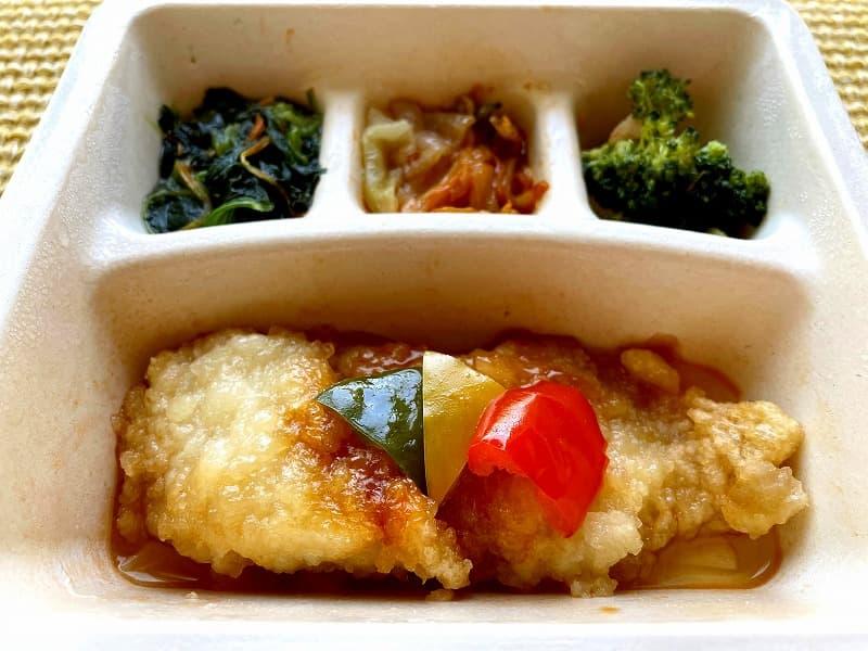 ナッシュnash白身魚の甘酢ソース20