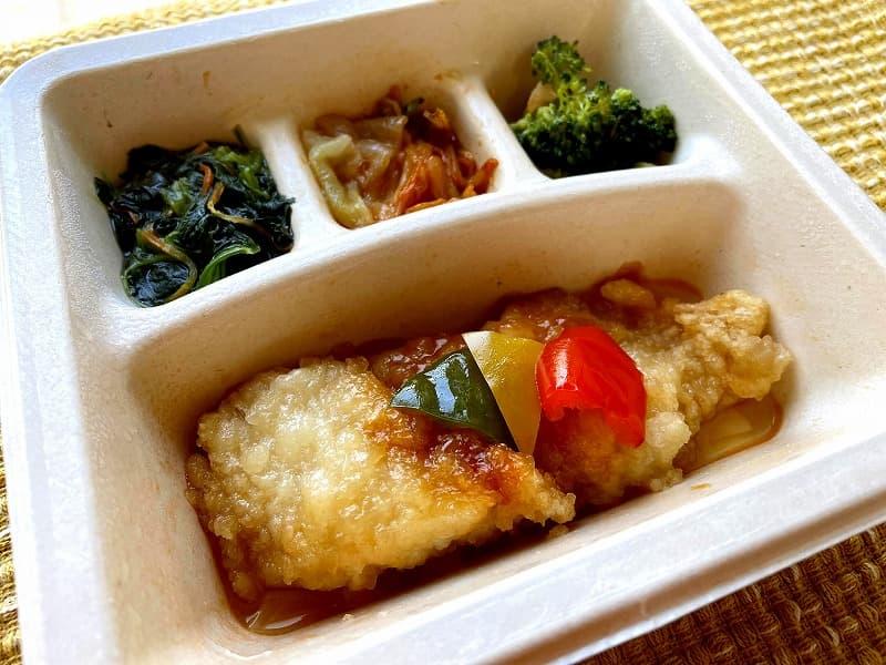 ナッシュnash白身魚の甘酢ソース21