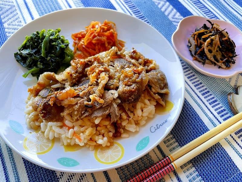 ナッシュnashスタミナ肉飯09